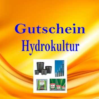 gutschein f r hydrokultur hydroshop24 alles f r. Black Bedroom Furniture Sets. Home Design Ideas